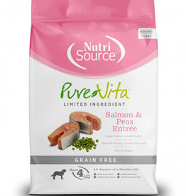 PureVita Dog Salmon & Peas Entrée - Grain-Free 25lb