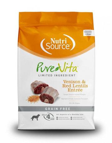 PureVita Canine Grain-Free Venison & Red Lentils Entrée