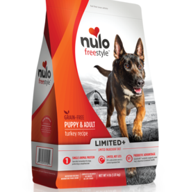 Nulo Dog Freestyle Limited+ Turkey Recipe - Grain-Free 22lb