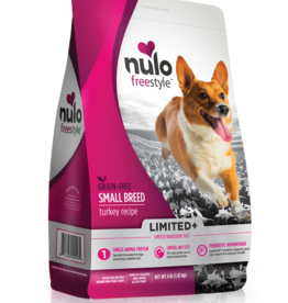 Nulo Dog Freestyle Limited+ Small Breed Turkey - Grain-Free 4lb
