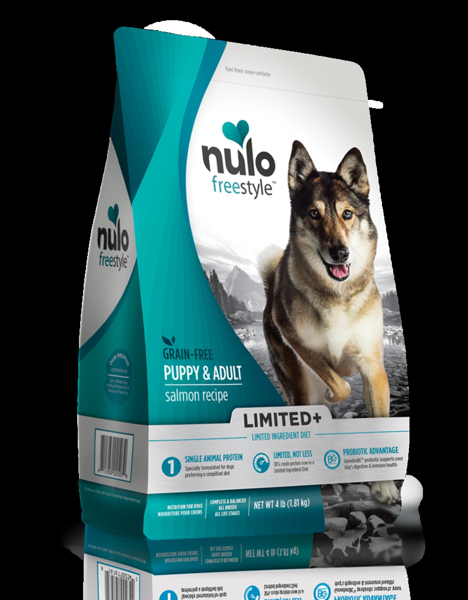 Nulo Dog Freestyle Limited+ Salmon - Grain-Free 22lb