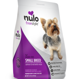 Nulo Dog Freestyle Salmon & Red Lentil Small Breed - Grain-Free 4.5lb