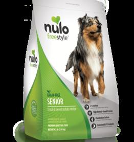 Nulo Dog Freestyle Trout & Sweet Potato Senior - Grain-Free 4.5lb