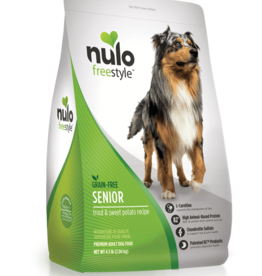 Nulo Dog Freestyle Trout & Sweet Potato Senior - Grain-Free 24lb