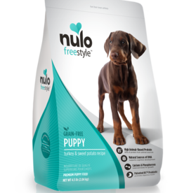 Nulo Dog Freestyle Turkey & Sweet Potato Puppy - Grain-Free 4.5lb