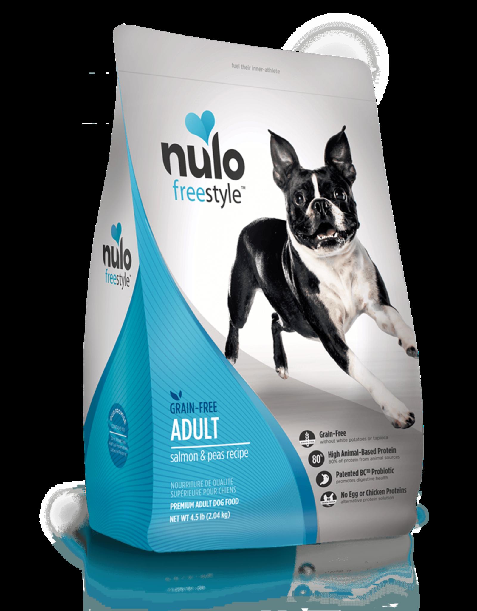 Nulo Dog Freestyle Salmon & Peas - Grain-Free 4.5lb