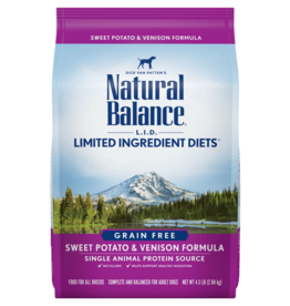 Natural Balance Dog L.I.D. Sweet Potato & Venison - Grain-Free 13lb