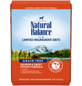 Natural Balance Dog L.I.D. Salmon & Sweet Potato - Grain-Free 13lb