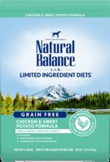 Natural Balance Dog L.I.D. Chicken & Sweet Potato - Grain-Free 26lb