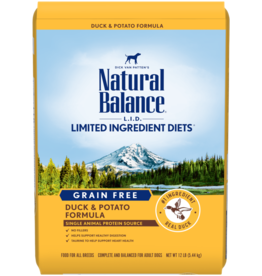 Natural Balance Dog L.I.D. Potato & Duck - Grain-Free 26lb