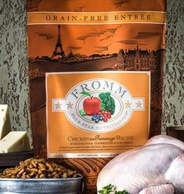 Fromm Family Pet Foods Dog Chicken au Frommage Recipe - Grain-Free 4lb