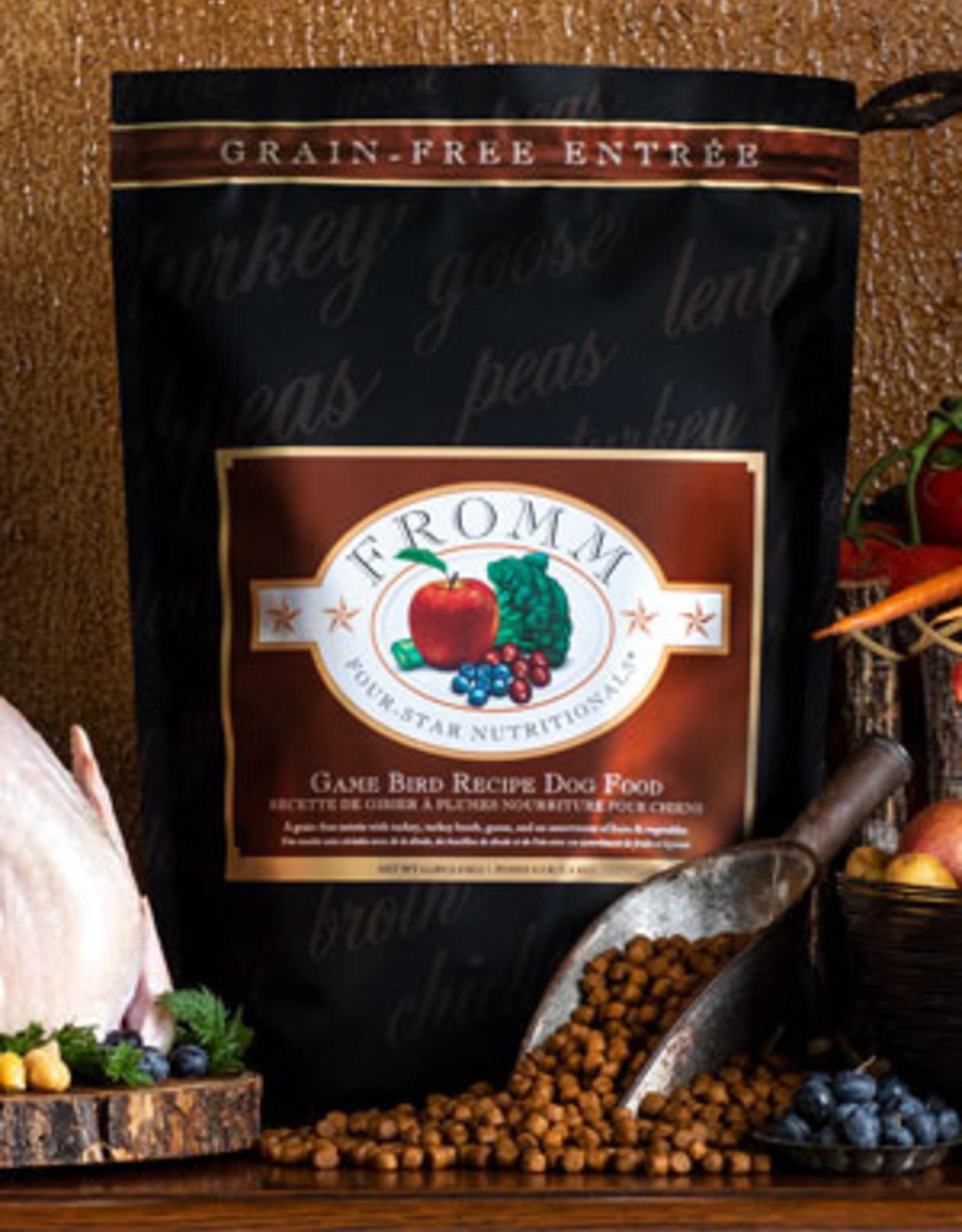 Fromm Family Pet Foods Dog Game Bird Recipe - Grain-Free 12lb