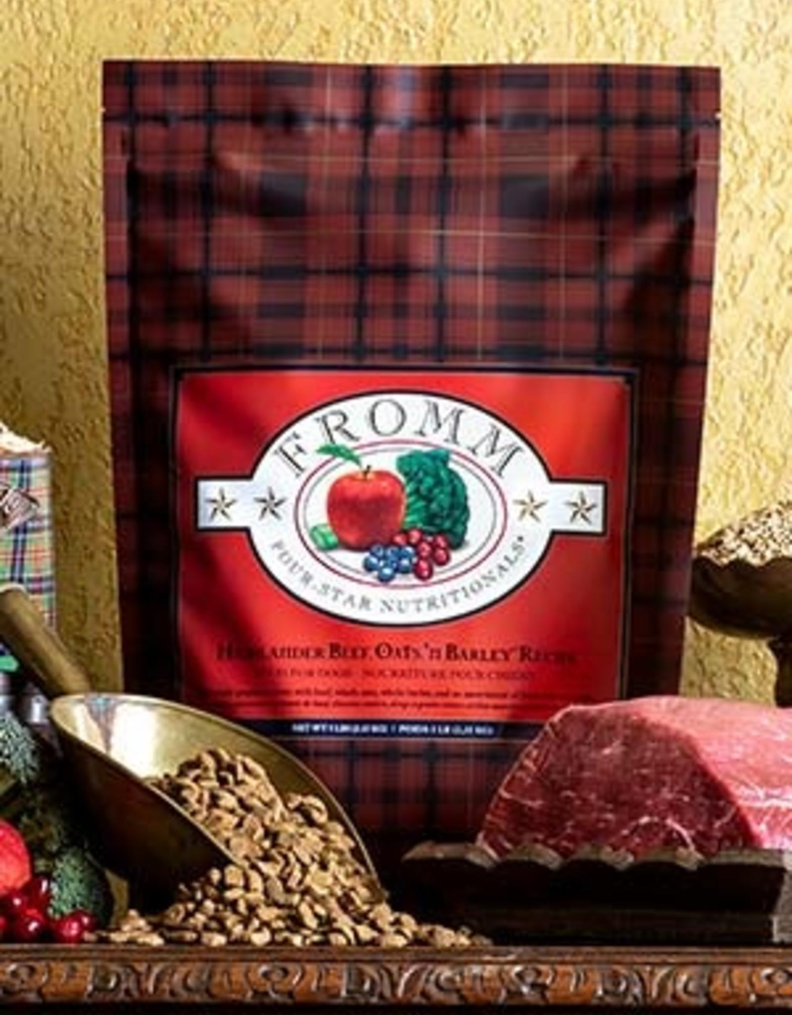 Fromm Family Pet Foods Dog Highlander Beef, Oats, 'n Barley® Recipe - Whole Grain 30lb