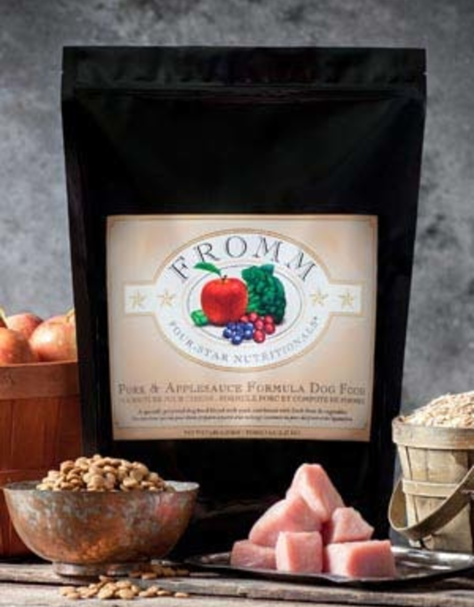Fromm Family Pet Foods Dog Pork & Applesauce Formula - Whole Grain 15lb