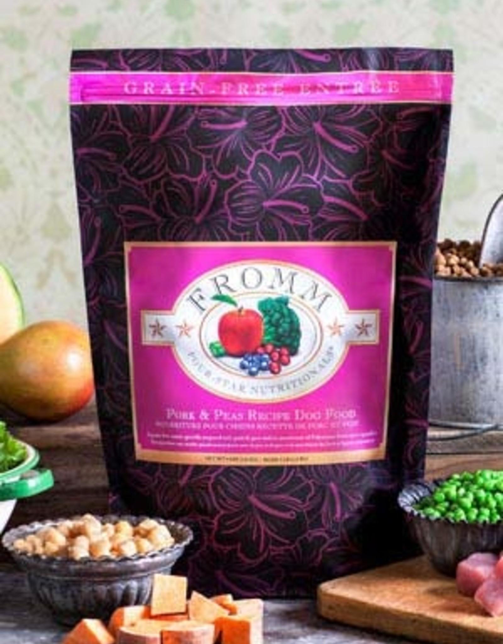 Fromm Family Pet Foods Dog Pork & Peas Recipe - Grain-Free 4lb