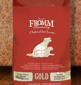 Fromm Family Pet Foods Dog Large Breed Weight Management Gold - Whole Grain 15lb