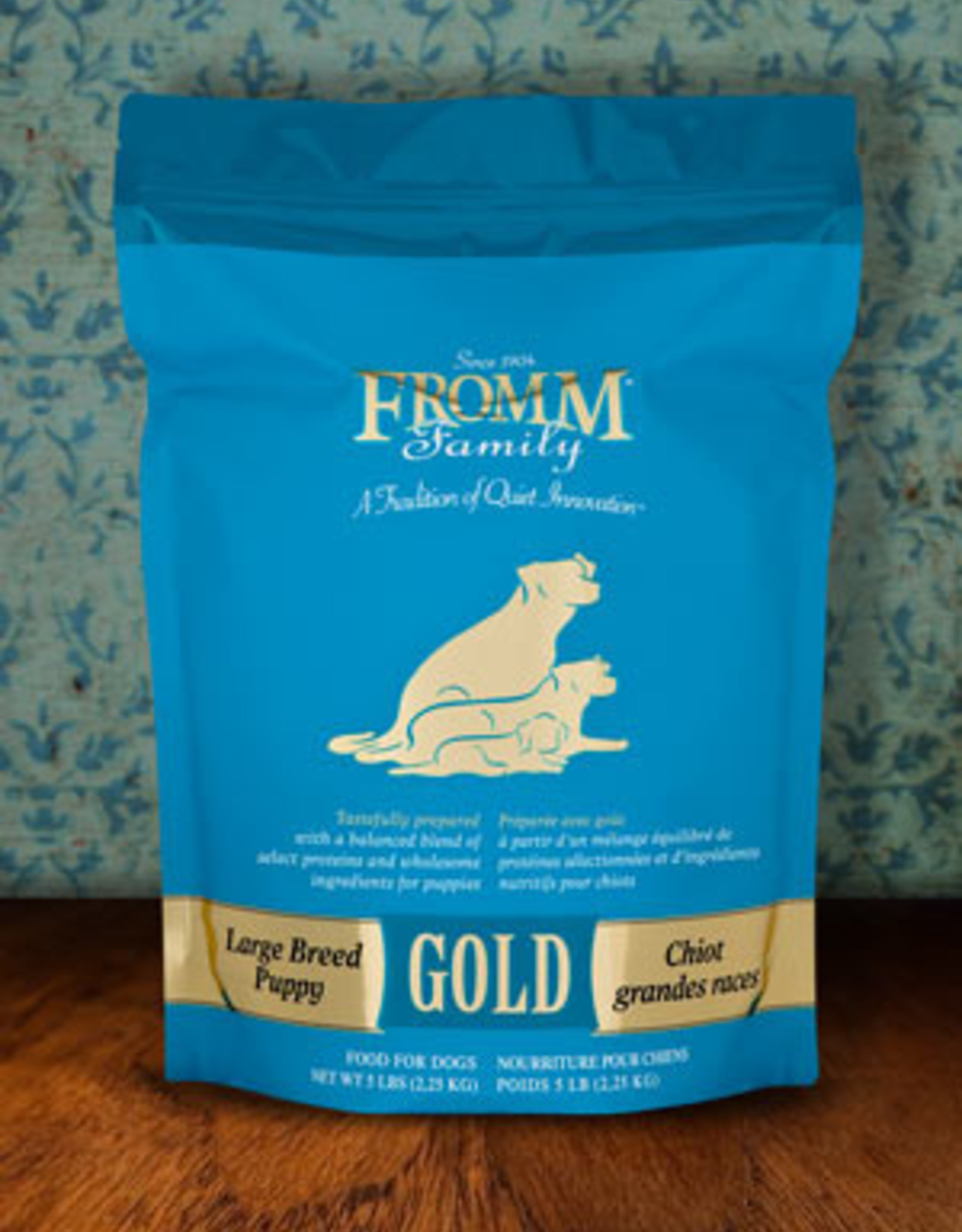 Fromm Family Pet Foods Dog Large Breed Puppy Gold - Whole Grain 15lb