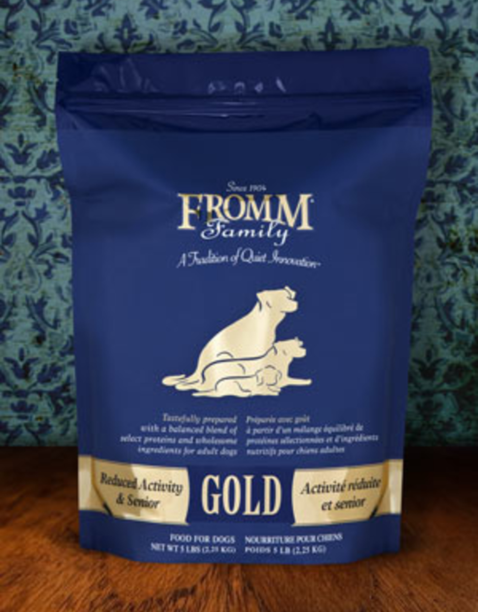 Fromm Family Pet Foods Dog Reduced Activity & Senior Gold - Whole Grain 5lb