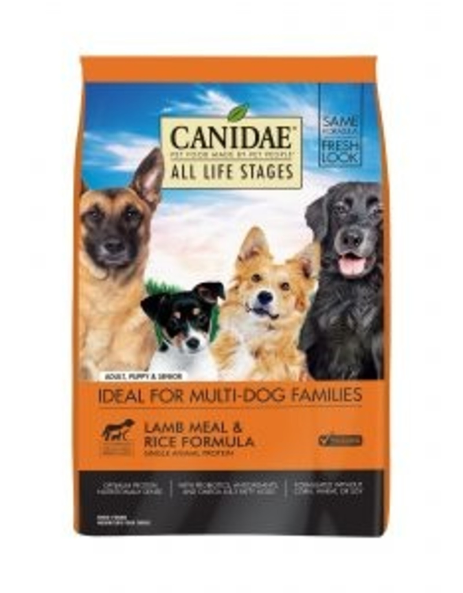 CANIDAE Dog All Life Stages with Lamb - Whole Grain 30lb