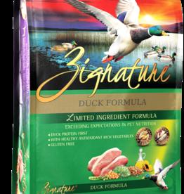 Zignature Dog Duck Formula - Grain-Free 4lb
