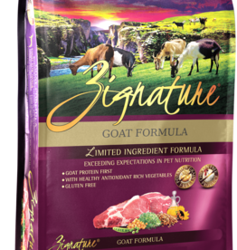 Zignature Dog Goat Formula - Grain-Free 4lb