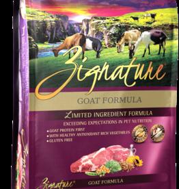 Zignature Dog Goat Formula - Grain-Free 27lb