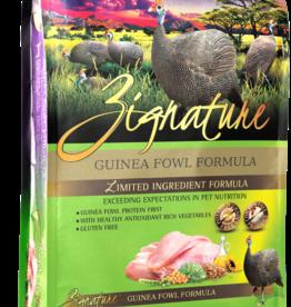 Zignature Dog Guinea Fowl Formula - Grain-Free 4lb
