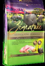 Zignature Dog Guinea Fowl Formula - Grain-Free 27lb