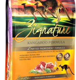 Zignature Dog Kangaroo Formula - Grain-Free 4lb