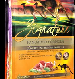 Zignature Dog Kangaroo Formula - Grain-Free 27lb