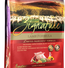 Zignature Dog Lamb Formula - Grain-Free 13.5lb