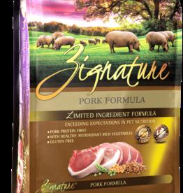 Zignature Dog Pork Formula - Grain-Free 13.5lb