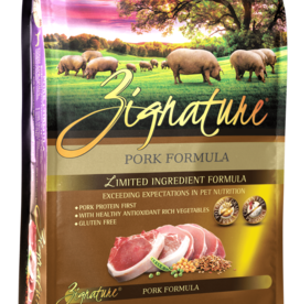 Zignature Dog Pork Formula - Grain-Free 27lb