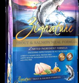Zignature Dog Trout & Salmon Formula - Grain-Free 13.5lb