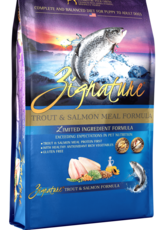Zignature Dog Trout & Salmon Formula - Grain-Free 27lb