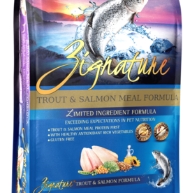 Zignature Dog Trout & Salmon Formula - Grain-Free 27lb