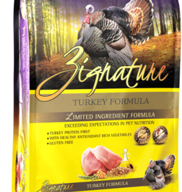 Zignature Dog Turkey Formula - Grain-Free 27lb