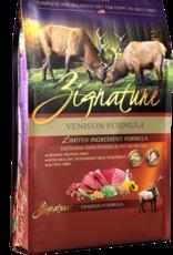 Zignature Dog Venison Formula - Grain-Free 4lb