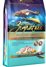 Zignature Dog Whitefish Formula - Grain-Free 13.5lb