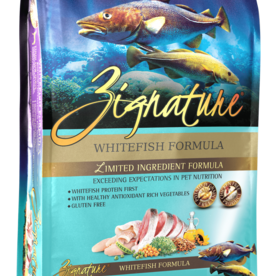 Zignature Dog Whitefish Formula - Grain-Free 27lb