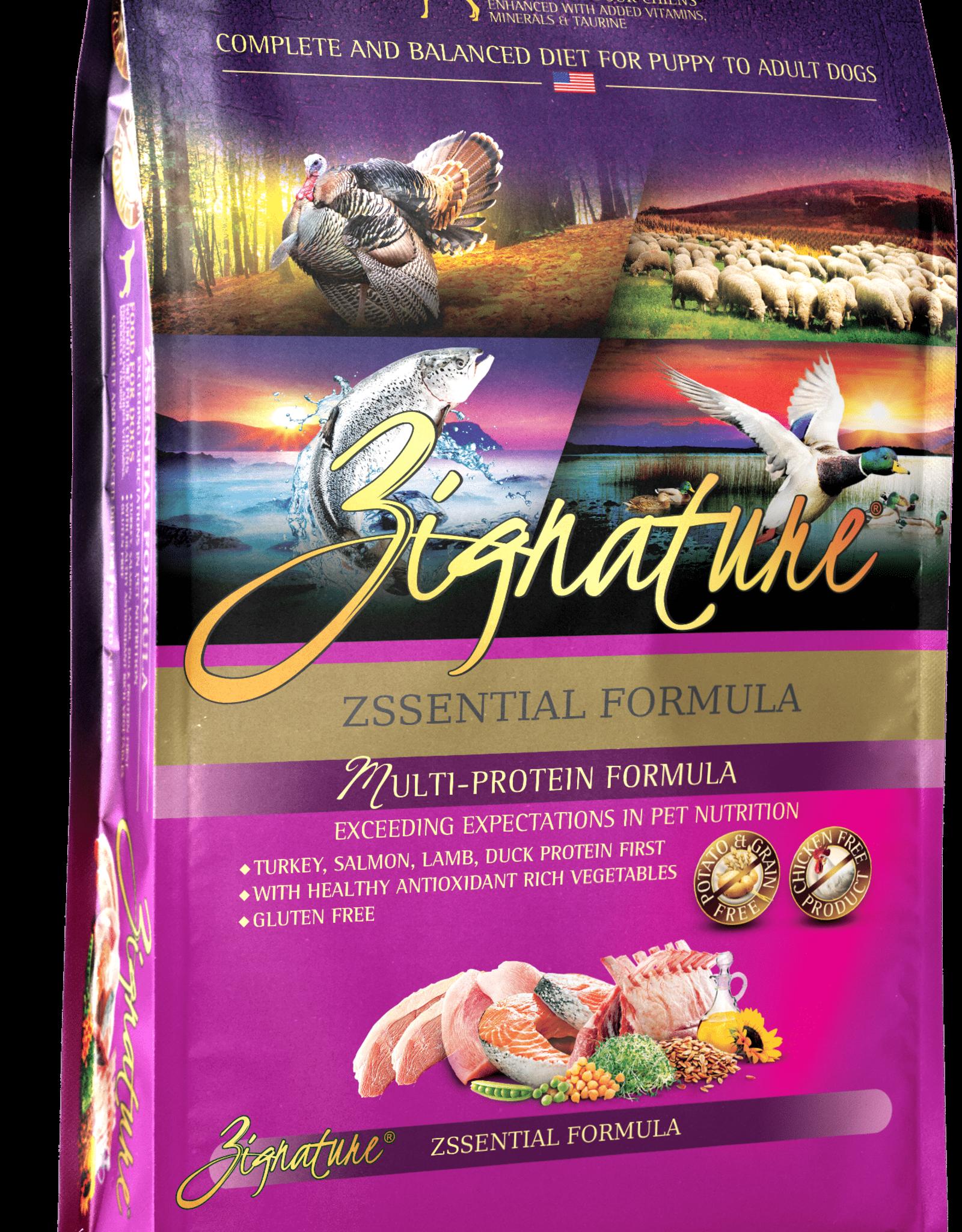 Zignature Dog Zssentials Formula - Grain-Free 13.5lb