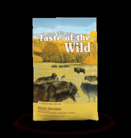 Taste of the Wild Pet Food Dog High Prairie Recipe - Grain-Free 5lb