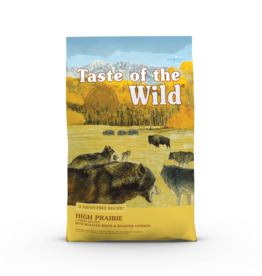 Taste of the Wild Pet Food Dog High Prairie Recipe - Grain-Free 28lb