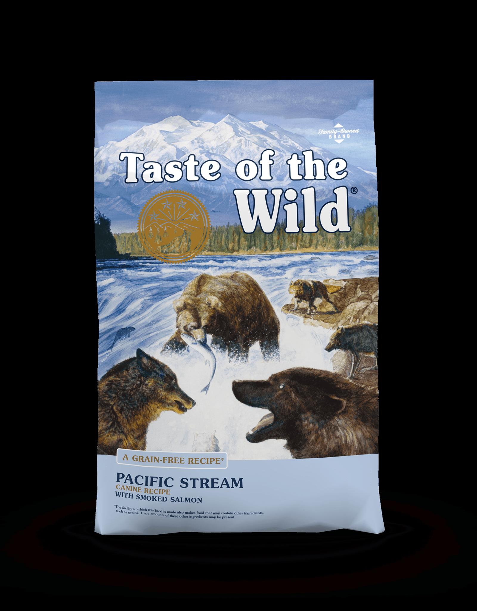 Taste of the Wild Pet Food Dog Pacific Stream Recipe - Grain-Free 14lb