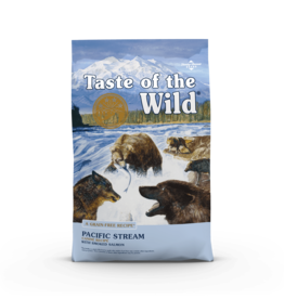 Taste of the Wild Pet Food Dog Pacific Stream Recipe - Grain-Free 28lb