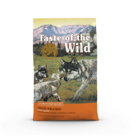 Taste of the Wild Pet Food Dog High Prairie Puppy Recipe - Grain-Free 14lb