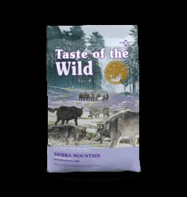 Taste of the Wild Pet Food Dog Sierra Mountain Recipe - Grain-Free 5lb