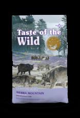 Taste of the Wild Pet Food Dog Sierra Mountain Recipe - Grain-Free 28lb