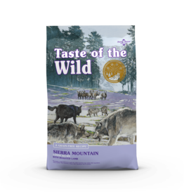 Taste of the Wild Pet Food Dog Sierra Mountain Recipe - Grain-Free 28lb