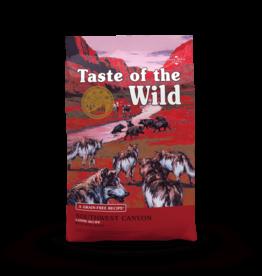 Taste of the Wild Pet Food Dog Southwest Canyon Recipe - Grain-Free 28lb